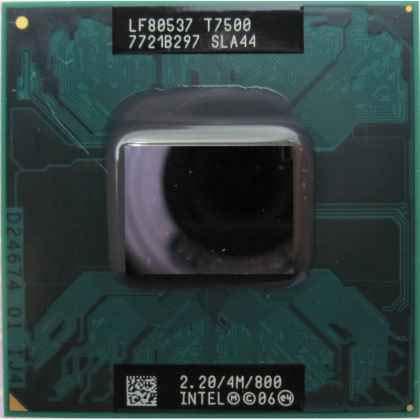 Intel PROCESADOR Core Duo T7500 2.20GHZ Usado