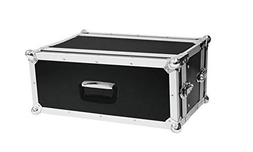 Roadinger Effektrack CO DD, 4HE, 24cm tief, schwarz für 483-mm-Steuer- und Effektgeräte (19