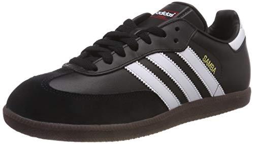 adidas Samba, Zapatillas de Fútbol para Hombre, Negro (Black/White/Gum), 39 1/3 EU