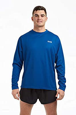Time To Run Men's Favourite Long Sleeve Running Gym T Shirt by time to run