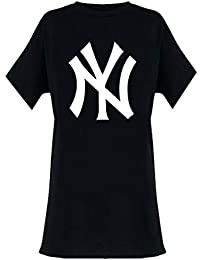 New York Yankees Official Ladies T Shirt Oversized Dress Classic Logo 2a2cc6e4ae6