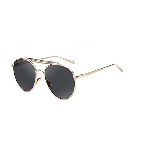 Black Temptation Neue Art und Weiseart Metallrahmen mehrfarbige Anti-UVA Anti-UVB Sonnenbrille