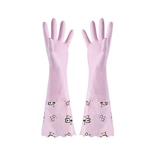 Tiansiangjjeu - 1 par guantes limpieza plástico antideslizantes