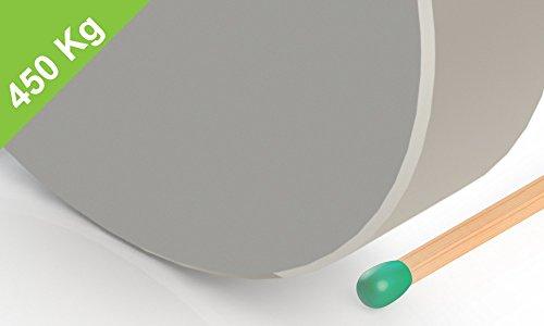 Neodym Scheibenmagnet, 90x20mm, vernickelt, Grade N52, Industriemagnete, Industriebedarf, Magnetismus