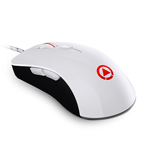 Urchoiceltd® 4000 dpi Gaming Mouse, G402 Wired mouse programmabile RGB retroilluminazione LED 7 pulsanti Silent ottico USB ergonomico Pro Gamer Wheel per PC laptop computer