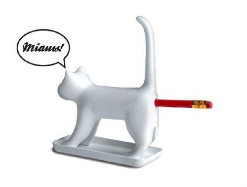 Mia uender sacapuntas gato-Blanco Sugerencia: que llevan muchos más divertidas Artículo alrededor el escritorio. tenemos este artículo también en negro. mira en nuestra tienda vez. todos amamos mascotas. particularmente gatos son un muy popular mie...