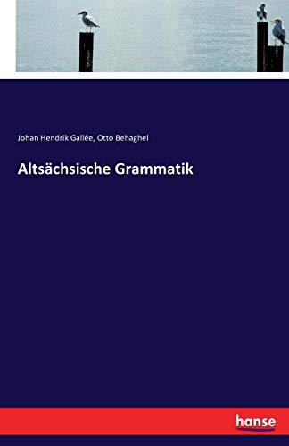 Altsächsische Grammatik