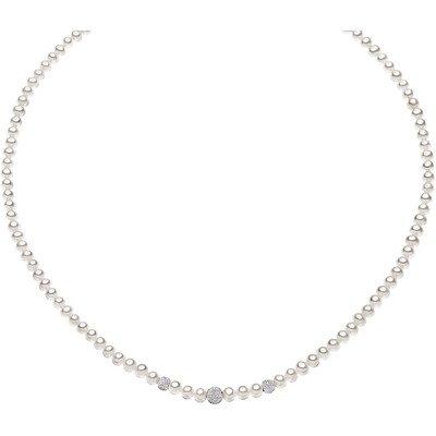 Collana donna gioielli comete perla elegante cod. fwq 195 b