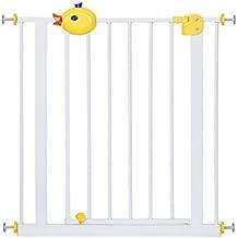 Niños Y Niños Puerta De Seguridad Barrera De Escalera Para Bebés Perro Para Mascotas Parque Para Perros Puerta Para Aislamiento De Vallas (Tamaño : 75-84cm)