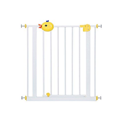 Säuglinge Und Kinder Sicherheit Tor Baby Treppen Barriere Haustier Hund Laufgitter Pole Zaun Isolation Tür (größe : 82-92cm) -