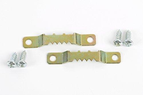 Aufhänger, Aufhänger für Holzrahmen, Zackenaufhänger, Aufhänger für Keilrahmen - 2 Stück mit...