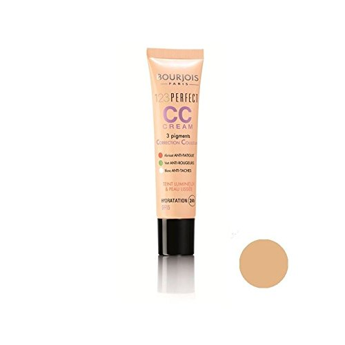 Bourjois 123 Parfaite Couleur Crème Correctrice Rose Beige (Pack de 2)