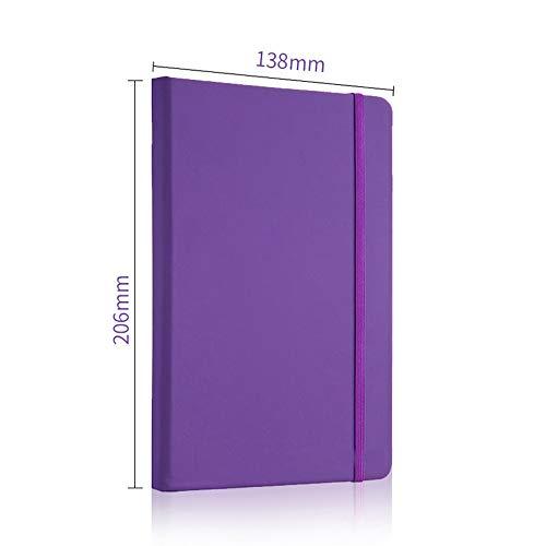 affari diario quaderno,violet