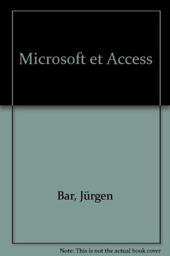 Microsoft et Access