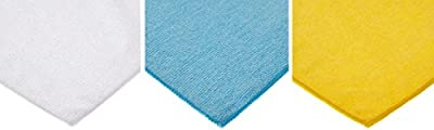 AmazonBasics Microfibre Cleaning Cloths Pack of X