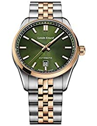 Reloj Automático Louis Erard Héritage Sport, PVD, Verde, 40 mm, 69101AB119.