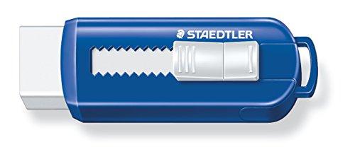 Staedtler 525 PS1 Radierer mit Schiebehülle PVC, phthalat und latexfrei, Schachtel, 1 Stück,...