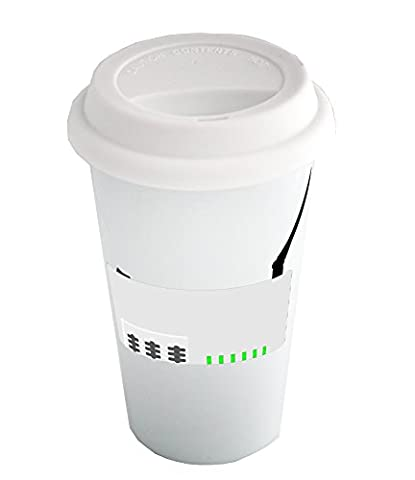 Coffee cup with White router Clipart.