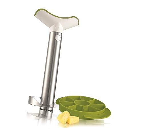 Tomorrow\'s Kitchen  (bislang Vacu Vin) - 4872360 - Ananasschneider Deluxe Edelstahl -das original
