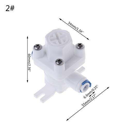 """WDTong - Riduttore di pressione per filtro acqua, sistema RO 1/4\""""3/8\"""""""