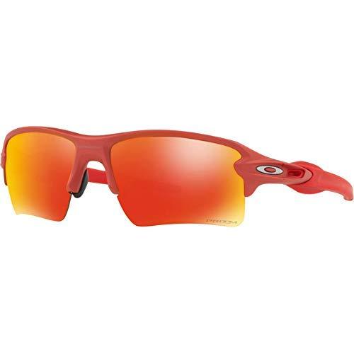 Oakley Mens Flak 2.0 XL Sunglasses, Ir Red/Prizm Ruby,OS