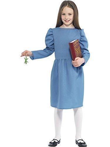 Mädchen Matilda Roald Dahl Kostüm Kostüm Größe L Age 10 bis - Roald Dahl Matilda Kostüm