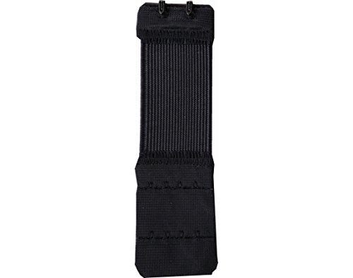 Verlängerungskabel elastisch Rücken Bh-2Haken 4cm breit schwarz