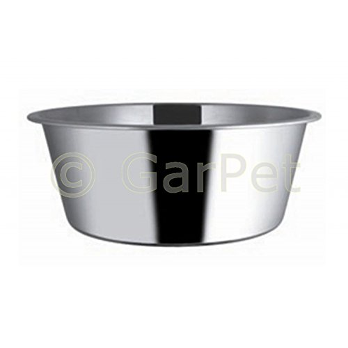 Standard Edelstahl Napf Hunde Katzen Futternapf Wassernapf (0.7 l) -