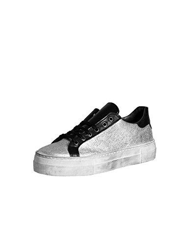 STUDIO CREAZIONI Sneakers Donna Laminato Argento Argento
