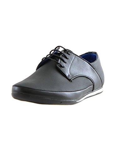 ZY Chaussure - Chaussure pas chère homme ZY 7625-2 Noir Noir