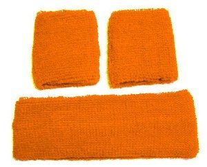 just-4-fun-leisurewear-neon-orange-sweatband-headband-2-wristbands-one-size