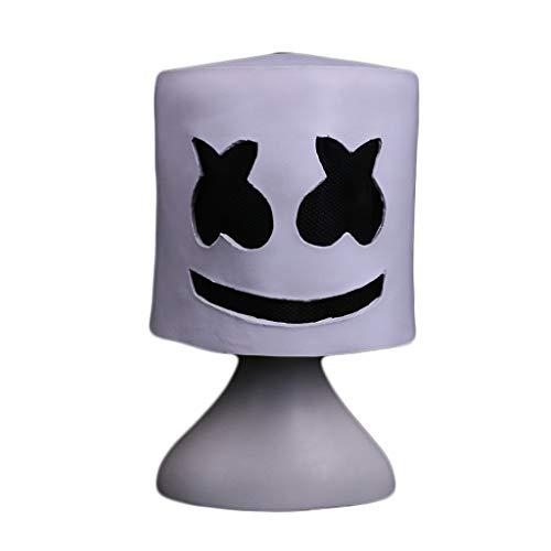 HU Halloween Latex Maske, Horror Thema Spiel Scary Maske Erwachsene