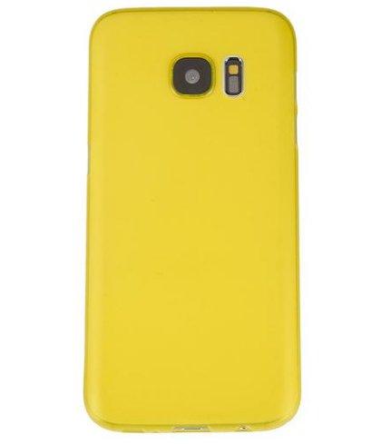 Monkey cases® Ultra sottile silicone opaco Look–Premium–Custodia per Cover–Slim 0,3Mm Flash gelb