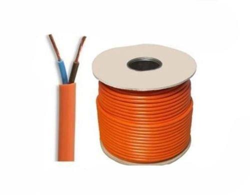 Preisvergleich Produktbild Generic 182Y 0, 75 mm 6 A Wer 20 m 2 Core Orange Flexibel 3182Y 0, 75 mm 6 Amp 2 Core Flexibles Kabel Rasenmäher 20 m 182Y 0, 75 mm 6 A 2 Core Orange F < 1 & 1073 * 1 >