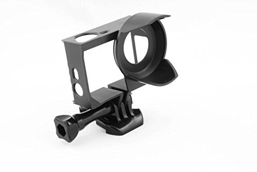 Shoot® Parasole cornice frame Custodia Protettiva per GoPro Hero 4/3+/3