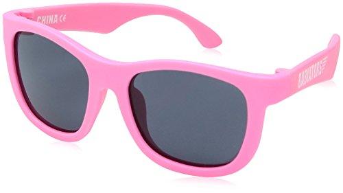 Babiators Mädchen Navigators Uv-Sonnenbrille, Think Pink!, 3-5 Jahre