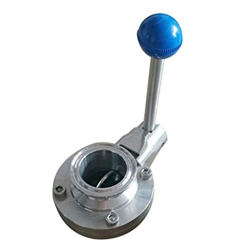 SM SunniMix Multifunktion Kugelventil Kugelhahn Absperrventil Wasserventil Freistromventil für Industrie Geschäft und andere Bereichen - 25 mm - Bereich Absperrventil