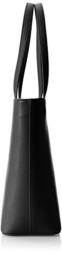 Love Moschino JC4059, Tote Femmes, 12x27x52 cm Noir (Black)