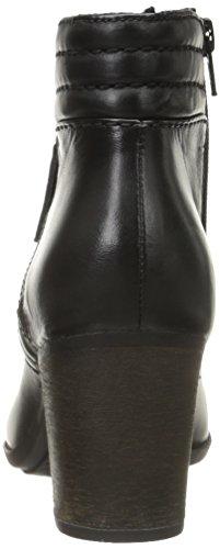 Clarks Enfield Ellen Boot Black Leather