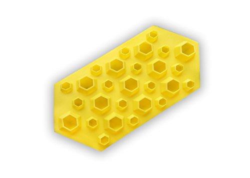 Eiswürfelform Diamant (Gelb)
