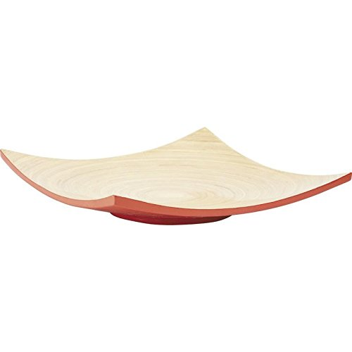 Corbeilles en bambou rouge