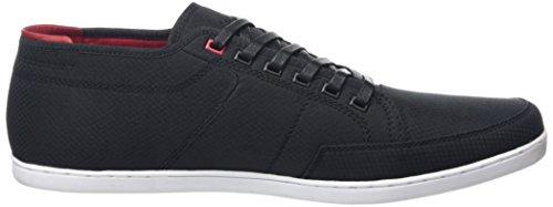 Boxfresh SPARKO ICN RIP NYL BLK/CH RED, Sneakers basses homme Noir - Noir (noir/rouge piment)