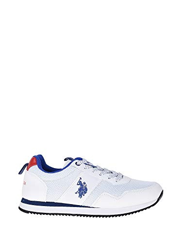 U.S. POLO ASSN TALBOT3 White NOBIL 4215S8/HN3 Herren Sneaker, 43 (Assn Us Polo Polo)