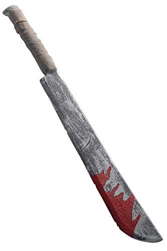 Smiffys Cuchillo Largo Manchas Sangre, 74cm