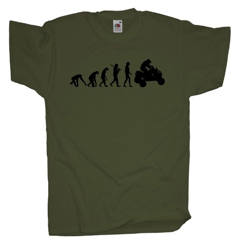Ma2ca - Evolution - Quad T-Shirt Olive
