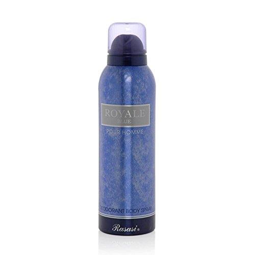 Rasasi Royale Pour Homme & Royale Blue Deodorant Combo Image