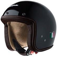 Piaggio - Casco para Vespa negro brillante - Talla: M o 58 cm - Modelo