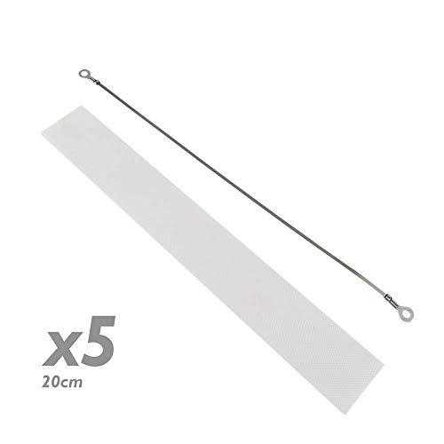 PrimeMatik - Wärmewiderstand Dichtungsteile für 20 cm 5 Pack