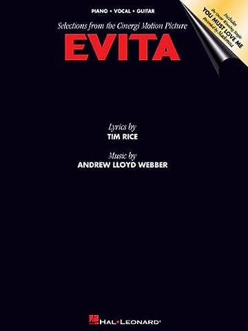 EVITA - MOVIE VERSION - arrangiert für Songbook [Noten / Sheetmusic] Komponist: WEBBER ANDREW LLOYD
