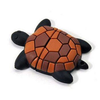 Schildkröte USB Stick 16 GB - Memory Stick Daten Speicher - Pen Drive - Speicherstick - Braun und Schwarz